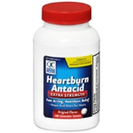 Quality Choice Heartburn Extra Strength Antacid 100 Chewable Tablets