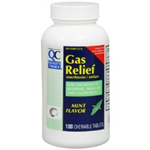 Quality Choice Gas Relief Mint Flavor 100 Chewable Tablets