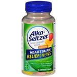 Alka-Seltzer Heartburn Relief Chews Assorted Fruit Flavors 36 Chewable Tablets
