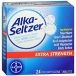 Alka-Seltzer Extra Strength 24 Effervescent Tablets