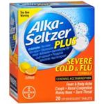 Alka-Seltzer Plus Severe Cold and Flu Citrus 20 Effervescent Tablets