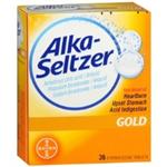 Alka-Seltzer Gold 36 Effervescent Tablets