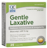 Quality Choice Gentle Laxative Bisacodyl 5mg- 25 Tablets