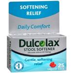 Dulcolax Stool Softener 25 Liquid Gels