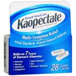 Kaopectate Multi-Symptom Relief 28 Coated Capsules