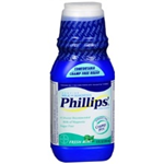 PHILLIPS MILK OF MAGNESIA SUGAR FREE 12 FL.OZ.