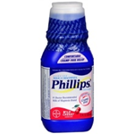 PHILLIPS MILK OF MAGNESIA CHERRY FLAVOR 12 FL.OZ.