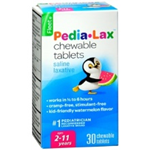 Fleet Pedia-Lax Saline Laxative 30 Chewable Tablets for Ages 2--11