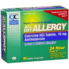 Quality Choice All Day Allergy 90 Tablets of 10 mg each