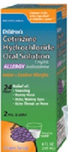 Children's Cetirizine Hydrochloride Oral Solution 1mg/mL Allergy Grape Flavor 4 fl oz