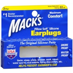 Mack's Pillow Soft Silicone Earplugs (2 Pairs)