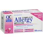 Quality Choice Allergy Relief 100 Capsules