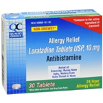 Quality Choice Allergy Relief Loratadine Tablets 30 Tablets