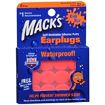 Mack's Pillow Soft Silicone Putty Earplugs Kids' Size (6 Pairs)