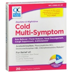 Quality Choice Daytime and Nighttime Cold Multi-Symptom 20 Caplets