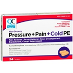 Quality Choice Pressure + Pain + Cold PE 24 Caplets