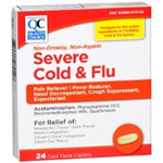Quality Choice Severe Cold and Flu 24 Caplets