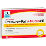 Quality Choice Pressure + Pain + Mucus PE 24 Caplets