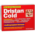 Dristan Cold 20 Coated Tablets