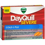 Vicks DayQuil Severe Cold and Flu 24 Caplets