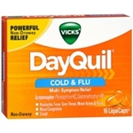 Vicks DayQuil Cold and Flu 16 LiquiCaps