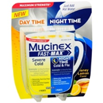 MUCINEX FAST-MAX NIGHT TIME 4 PACKETS