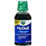 VICKS NYQUIL Cold and Flu 12 FL.OZ.