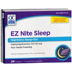 E Z NITE SLEEP 24 SOFTGELS