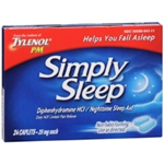 TYLENOL PM SIMPLY SLEEP 24 CAPLETS