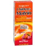 Children's Motrin for Ages 2 -11 Berry Flavor 4 fl oz