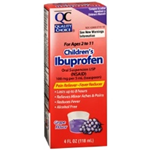 Quality Choice Children's Ibuprofen Grape Flavor 4 fl oz