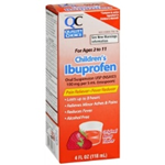 Quality Choice Children's Ibuprofen Berry Flavor 4 fl oz