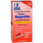 Quality Choice Infants' Ibuprofen Dye-Free Berry Flavor 1 fl oz