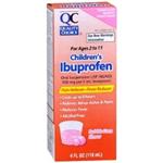 Quality Choice Children's Ibuprofen Bubble Gum Flavor 4 fl oz