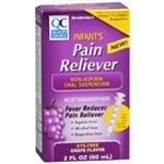 Quality Choice Infants' Pain Relief Grape Flavor 2 fl oz