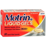 Motrin IB 80 Liquid Filled Capsules