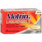 Motrin IB 20 Liquid Filled Capsules