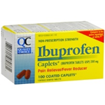 Quality Choice Ibuprofen 200 mg 100 Coated Caplets