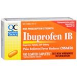 Quality Choice Ibuprofen IB 200mg 100 Coated Caplets