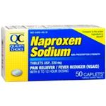Quality Choice Naproxen Sodium 220 mg 50 Caplets
