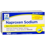 Quality Choice Naproxen Sodium 220 mg 100 Caplets
