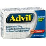 Advil 20 Coated Tablets
