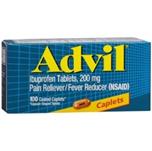 Advil 100 Coated Caplets