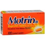Motrin IB 100 Coated Caplets