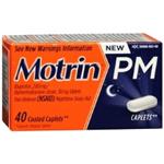 Motrin PM 40 Coated Caplets