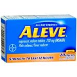 Aleve 220 mg 20 Gel Caps