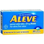 Aleve 220 mg 50 Caplets