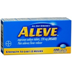 Aleve 220 mg 100 Caplets