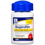 Quality Choice Ibuprofen Easy to Open 250 Coated Tablets