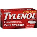 Tylenol Extra Strength 500 mg 100 Caplets